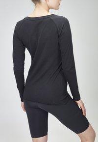 MOROTAI - Long sleeved top - black - 2