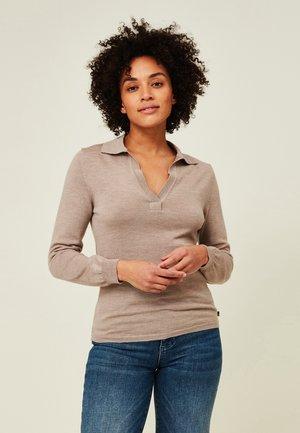 HANA  - Sweatshirt - light brown melange