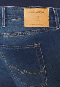 Jack & Jones - JJIRICK JJICON - Denim shorts - blue denim - 3