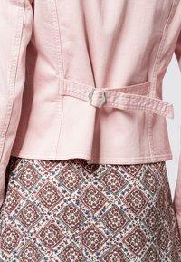 zero - Denim jacket - peach sorbet - 4