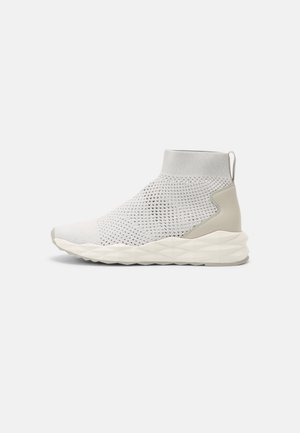 SOUND - Sneakers high - white/marble