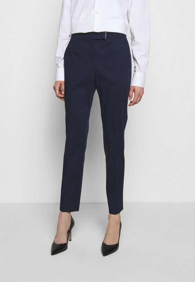 HISURI - Kalhoty - open blue