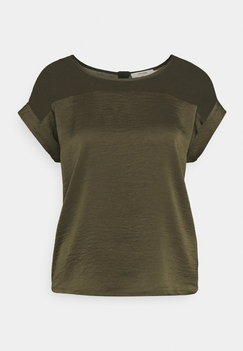 Cream - CRCEM - T-shirt print - sea turtle
