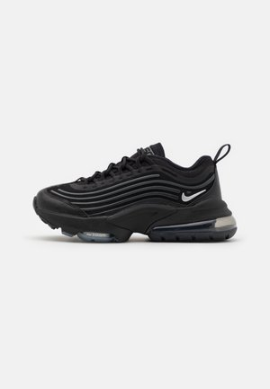 AIR MAX ZM950 UNISEX - Sneakers laag - black/metallic silver/bright crimson