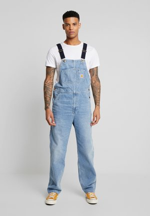 SIMPLE PANT NORCO - Straight leg jeans - blue worn bleached