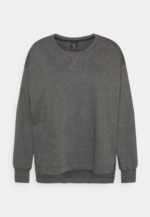 CORE - Sweatshirt - black/smoke grey
