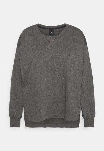CORE - Sweatshirt - black/smoke grey