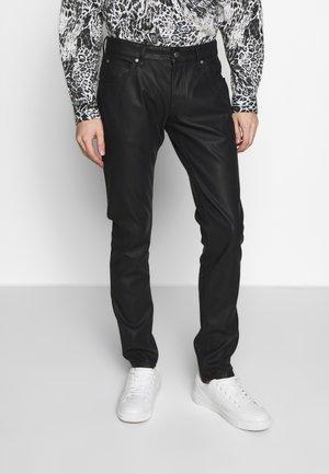 PANTS FIVE POCKETS - Pantalones - black