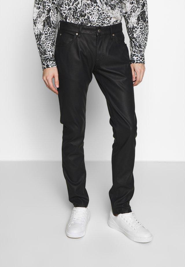 PANTS FIVE POCKETS - Trousers - black