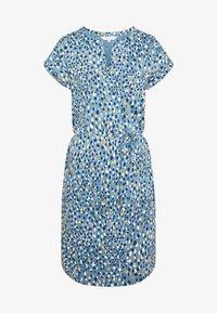 MABEL - Jersey dress - gold/blue heaven