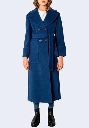 ERMIONE - Trenchcoat - blue