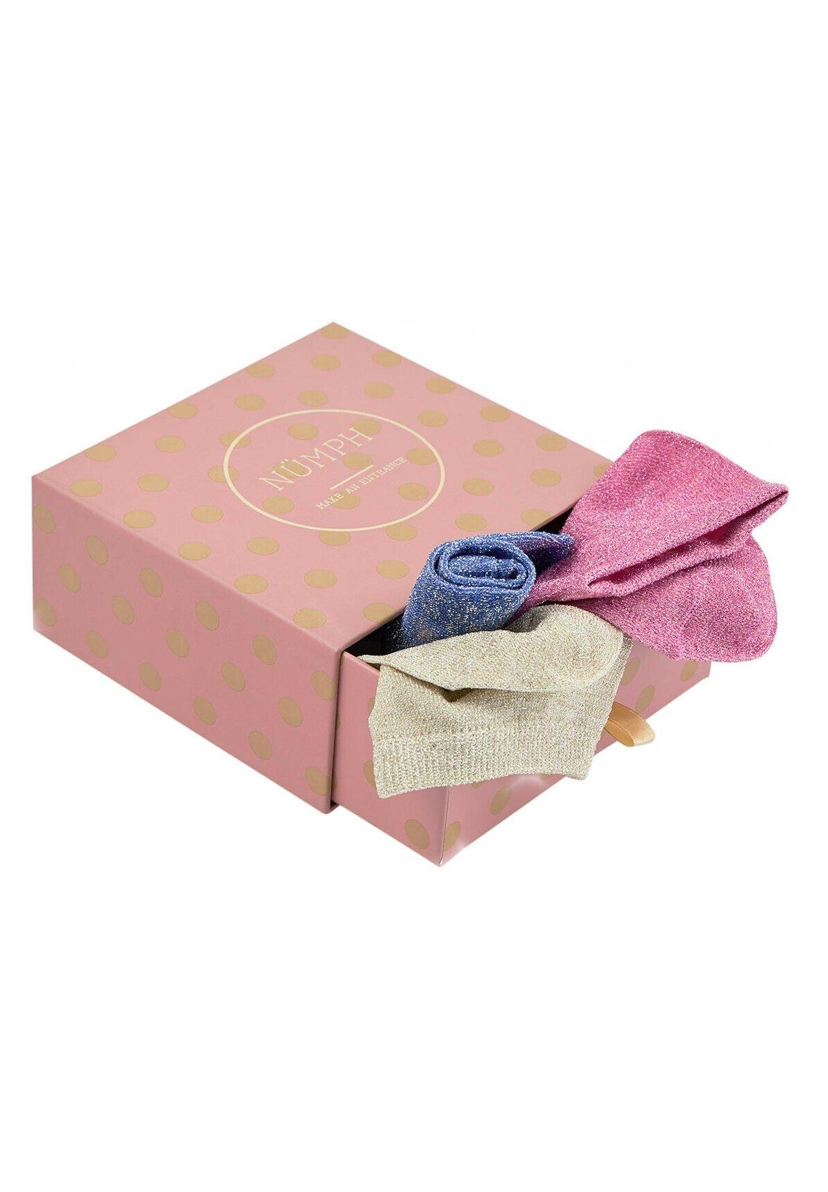 Femme NUBRONACH 3-PACK GLITTER  - Chaussettes