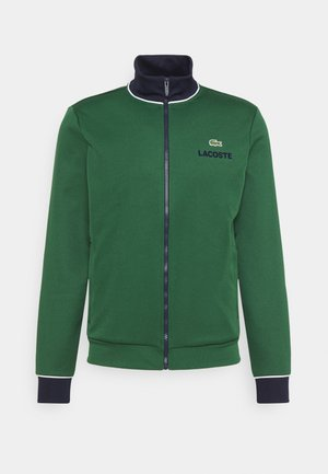 BOMBER JACKET - Training jacket - green/navy blue/white