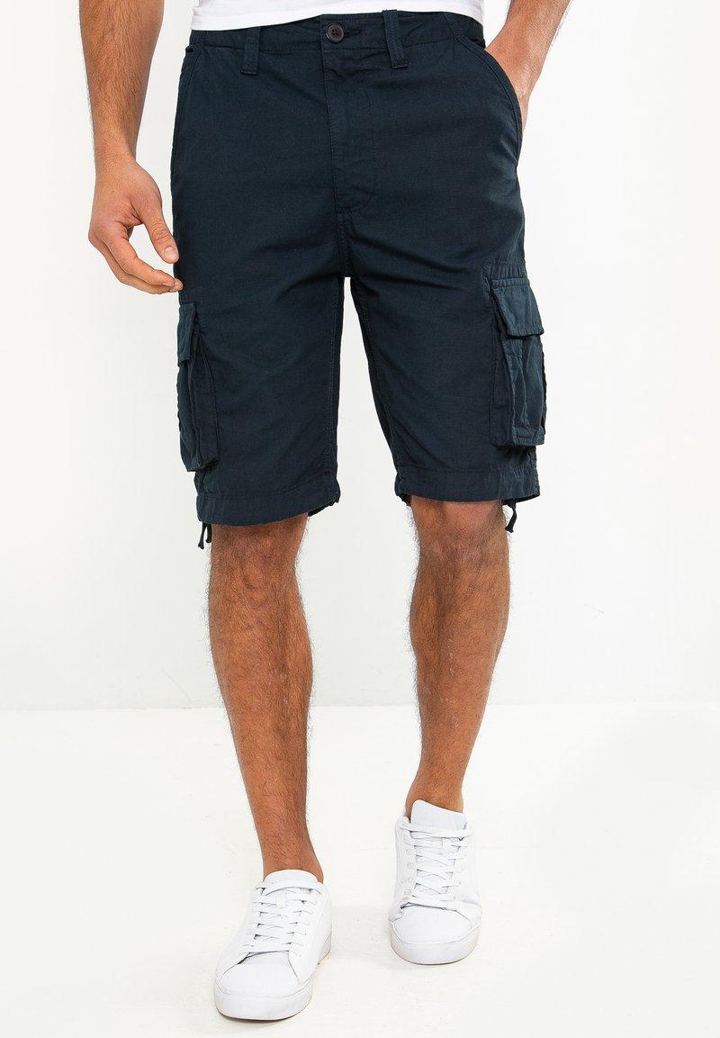 Threadbare - MANCHESTER - Shorts - blau