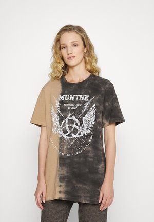 RELAXED - T-shirt print - brown