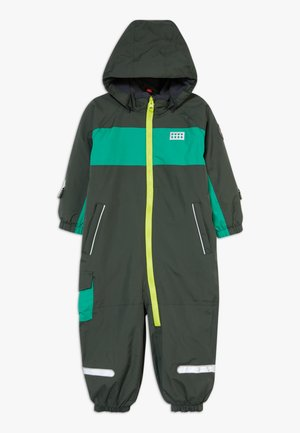 LWJULIO 707 SNOWSUIT - Snowsuit - dark green