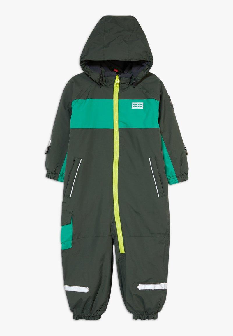 LEGO Wear - LWJULIO 707 SNOWSUIT - Snowsuit - dark green