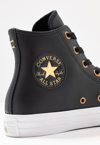 Converse - CHUCK TAYLOR ALL STAR - Sneakers alte - black/gold/white - 2