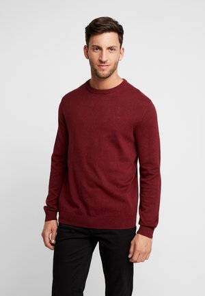 CREW - Strickpullover - dark red
