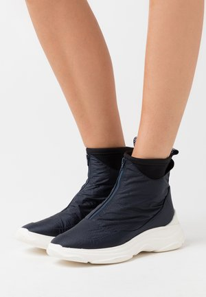 Classic ankle boots - silk/schwarz