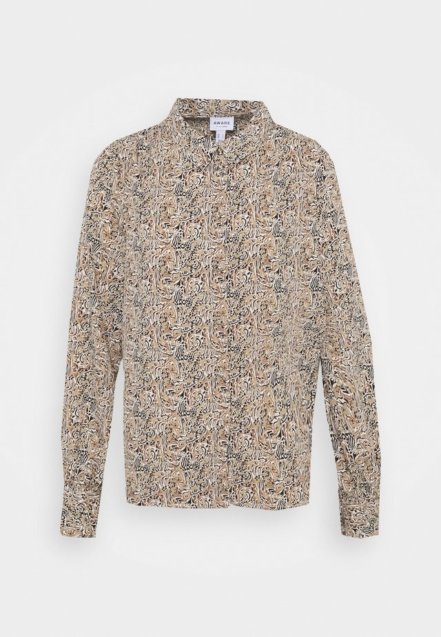 VMJOSEPHINE LINDA - Button-down blouse - birch/josephine