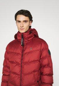 G-Star - WHISTLER PUFFER - Winter jacket - dry red - 3