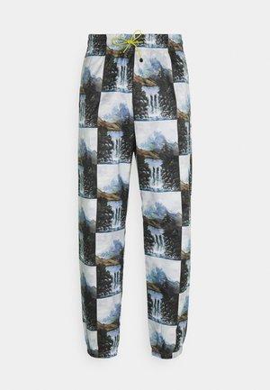 STREET - Pantalones deportivos - alumin/black
