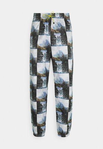 STREET - Pantaloni sportivi - alumin/black