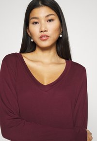 Anna Field - Long sleeved top - dark red - 5