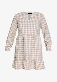 VMKIMI SHORT DRESS  - Day dress - snow white/nomade