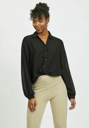 VIJEMO  - Button-down blouse - black
