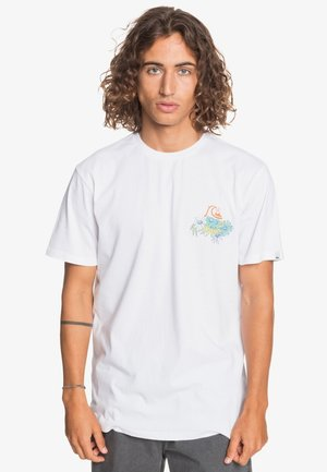 AUTHENTIC FAKE - Print T-shirt - white