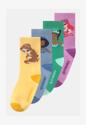 TODDLER GIRL DISNEY PRINCESSES 4 PACK - Ponožky - multi-coloured