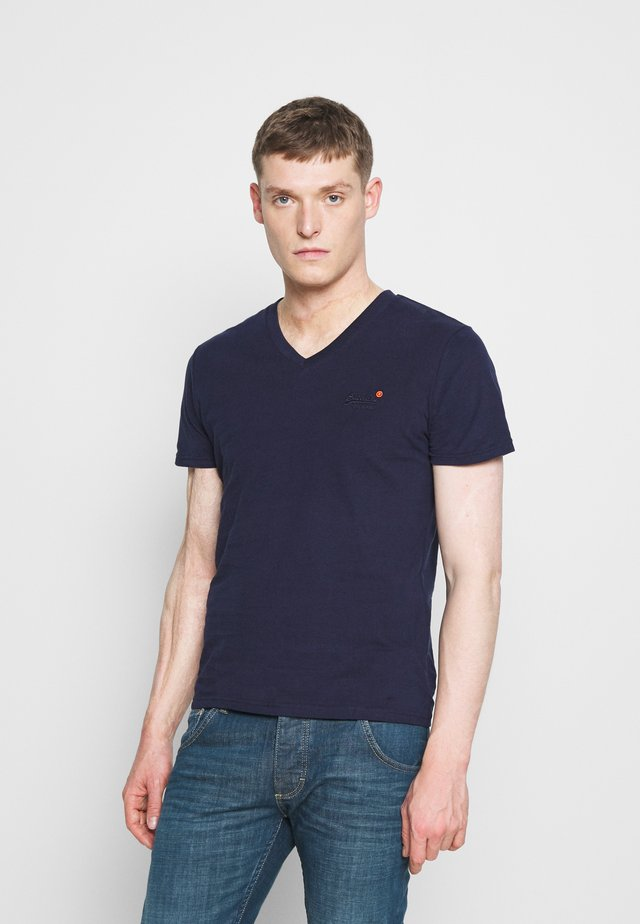 CLASSIC TEE - T-shirt basic - rich navy