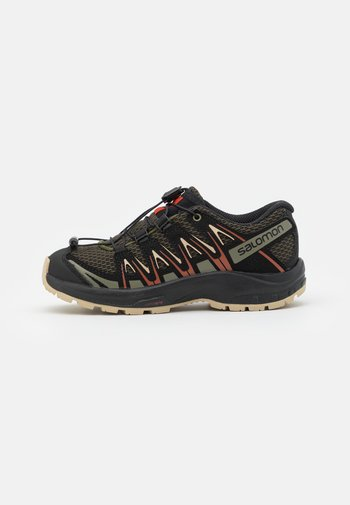 XA PRO 3D UNISEX - Hiking shoes - olive night/safari/rooibos tea