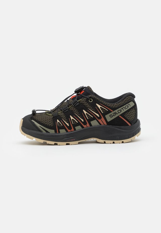 XA PRO 3D UNISEX - Hiking shoes - olive night/safari/rooibos tea