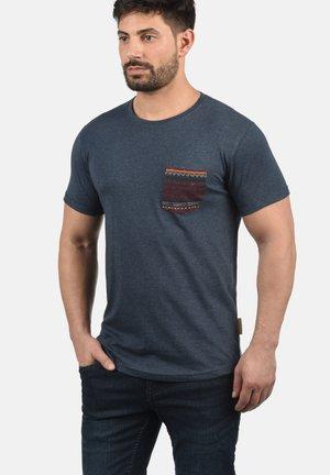 PAXTON - T-shirt print - navy