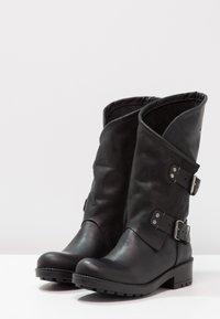 Coolway - ALIDA - Cowboy/Biker boots - black - 3