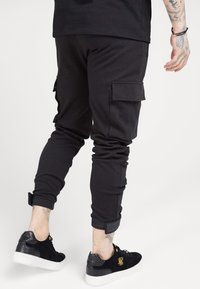 SIKSILK - PANTS - Cargobroek - black - 4