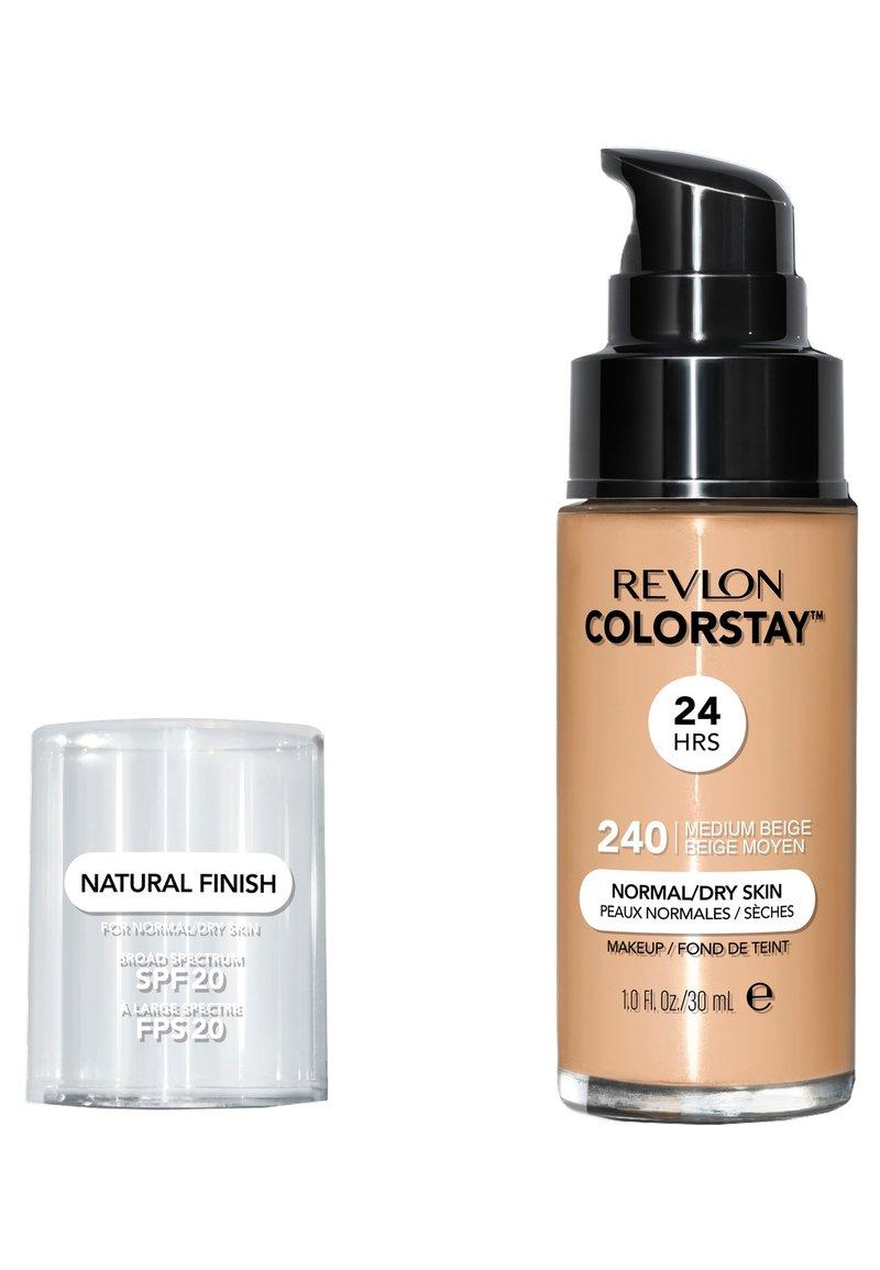 Revlon - COLORSTAY FOUNDATION FOR NORMAL TO DRY SKIN - Foundation - N°240 medium beige
