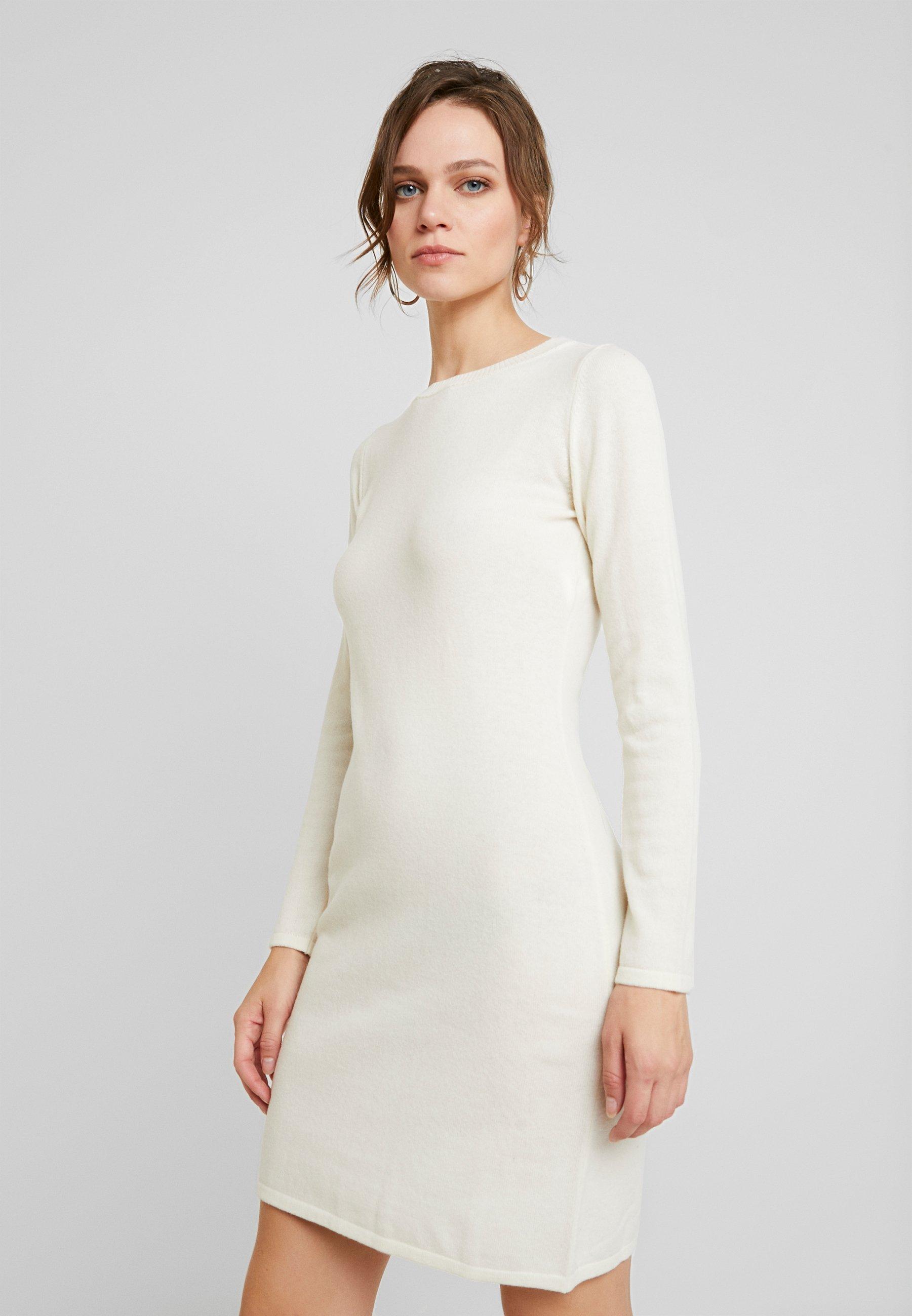 Benetton DRESS - Kjole - white