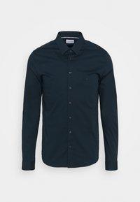 Calvin Klein Tailored - LOGO STRETCH EXTRA SLIM - Formal shirt - blue - 0
