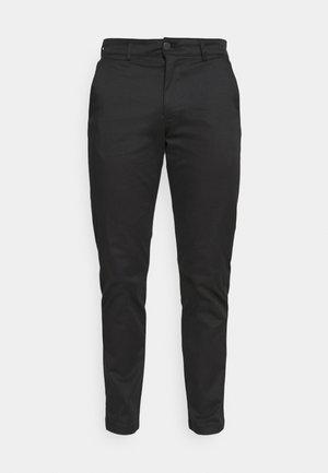 SLHSTRAIGHT FLEX PANTS - Chinos - black