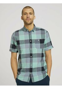 TOM TAILOR - Shirt - turquoise - 0