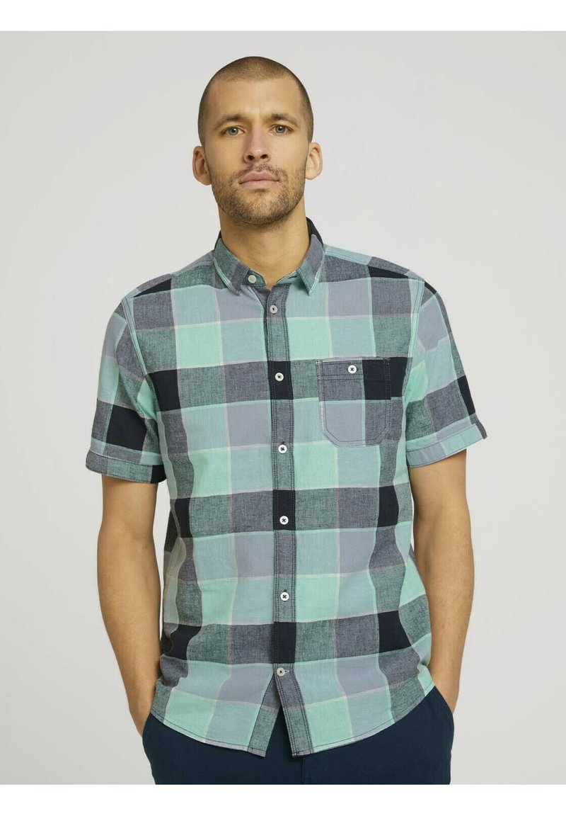 TOM TAILOR - Shirt - turquoise