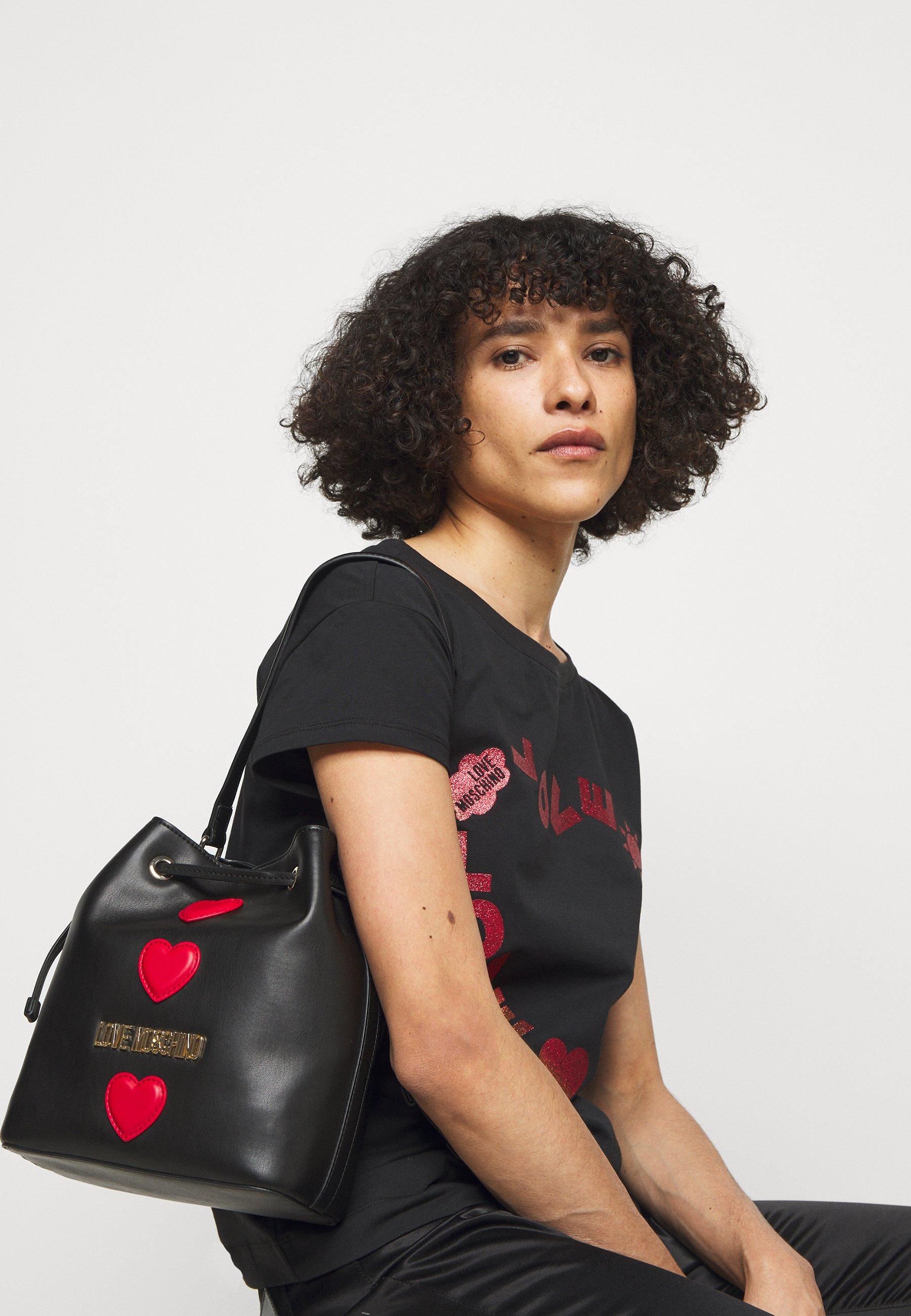 Women BUCKET BAG BLACK EXCLUSIVE - Handbag