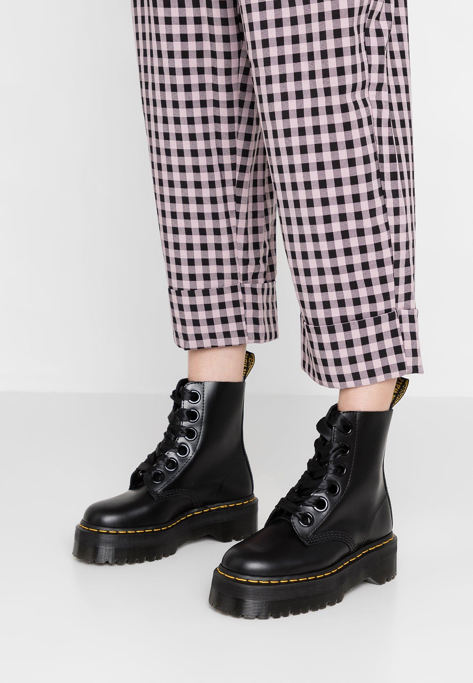 Dr. Martens Platform boot   Plateaustiefelette   black