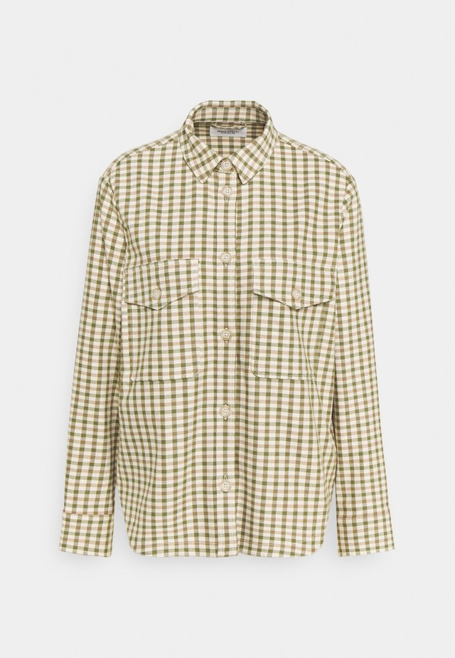 THE CHECKED SHACKET - Summer jacket - multi/fresh herbs