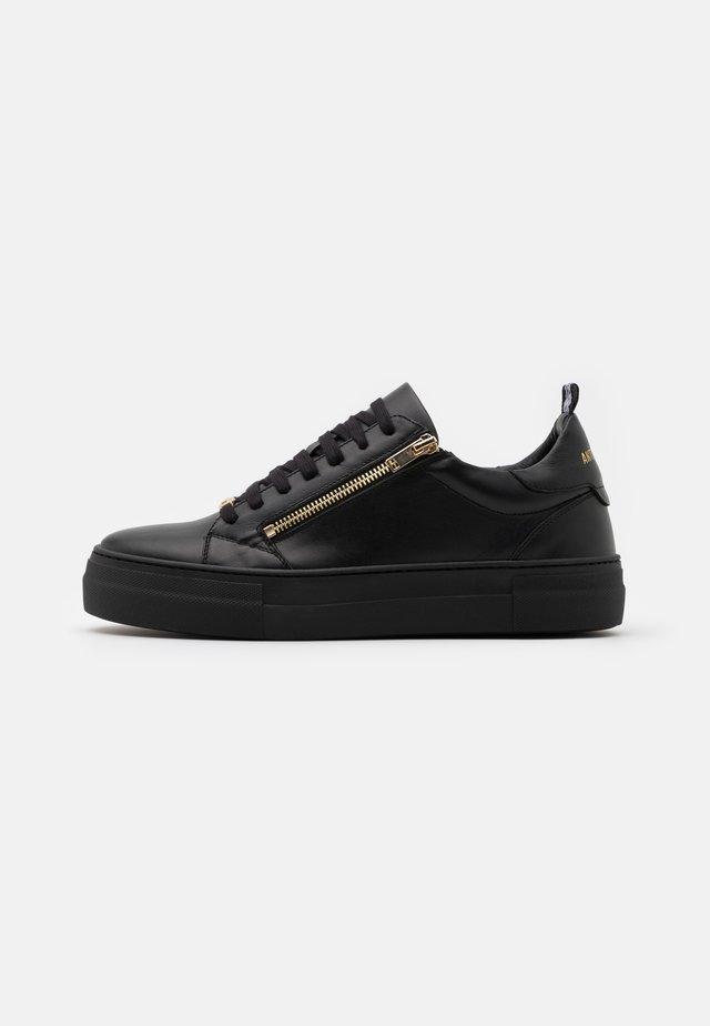 ZIPPER - Baskets basses - black