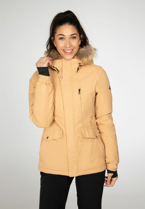 AMANDA - Snowboard jacket - tortilla